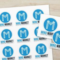 Livraison économique offerte dès 40€ HT Stickers MindMarket 3
