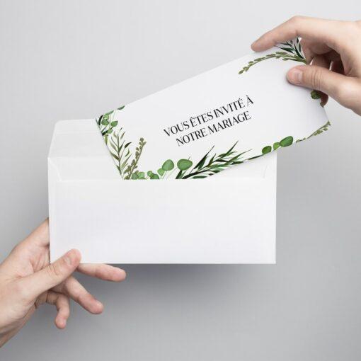 Annoncer officiellement un événement important: réception, séminaire, mariage… invitation 1